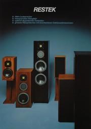 Restek GK-2 / GK-3 / GK-4 Prospekt / Katalog