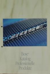 Bose Katalog Professionelle Produkte Prospekt / Katalog