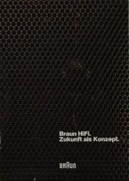 Braun Zukunft als Konzept Prospekt / Katalog