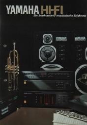 Yamaha HiFi - Ein Jahrhundert musikalische Erfahrung Prospekt / Katalog