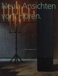Braun Neue Ansichten vom Hören Prospekt / Katalog