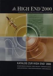 High End High End 2000 - Messe Highlights Prospekt / Katalog