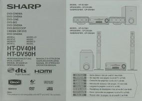 Sharp HT-DV 40 H / HT-DV 50 H Bedienungsanleitung
