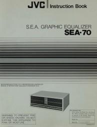 JVC SEA-70 Bedienungsanleitung