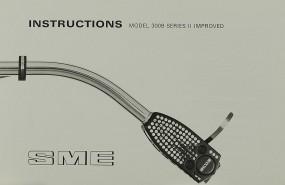 SME Model 3009 Series II Improved Bedienungsanleitung