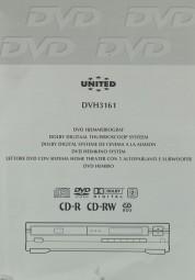 United DVH 3161 Bedienungsanleitung