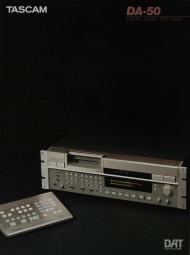 Tascam DA-50 Prospekt / Katalog