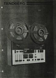 Tandberg 10 X Schaltplan / Serviceunterlagen