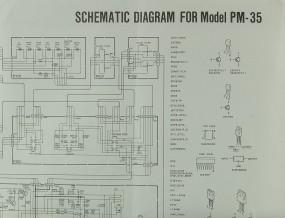 Marantz PM-35 Schaltplan / Serviceunterlagen
