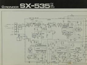 Pioneer SX-535 (FV, GN, KCU) Schaltplan / Serviceunterlagen