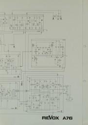 Revox A 76 Schaltplan / Serviceunterlagen