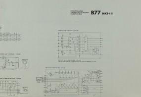Revox B 77 MK I / II Schaltplan / Serviceunterlagen