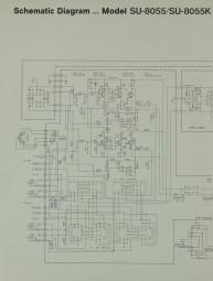 Technics SU-8055 / SU-8055 K Schaltplan / Serviceunterlagen