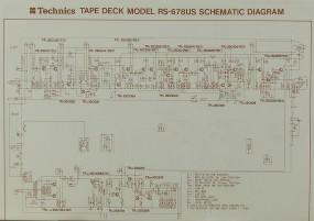 Technics RS-678 US Schaltplan / Serviceunterlagen