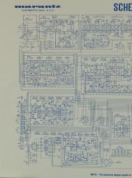 Marantz Model 2250 B Schaltplan / Serviceunterlagen