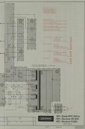 Grundig RPC-200/a / RC 200 / R 200 Schaltplan / Serviceunterlagen