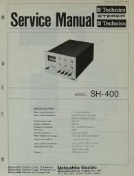 Technics SH-400 Schaltplan / Serviceunterlagen