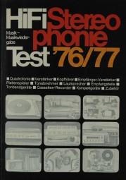 Hifi Stereophonie Test ´76/´77 Hifi-Jahrbuch