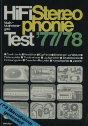 Hifi Stereophonie Test ´77/´78 Hifi-Jahrbuch