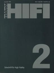 Hifi Exklusiv 2/1992 Zeitschrift
