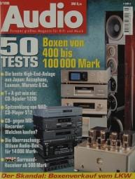 Audio 3/1998 Zeitschrift