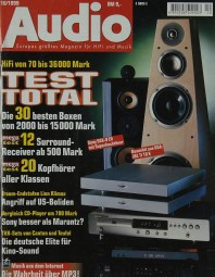 Audio 10/1999 Zeitschrift
