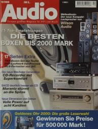 Audio 10/2000 Zeitschrift