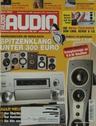 Audio 4/2002 Zeitschrift