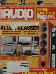 Audio 7/2002 Zeitschrift