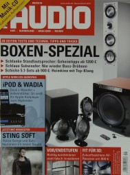 Audio 9/2010 Zeitschrift