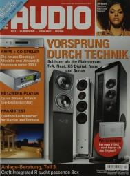 Audio 9/2011 Zeitschrift