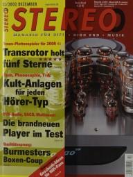 Stereo 12/2002 Zeitschrift
