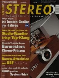 Stereo 9/2005 Zeitschrift