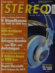 Stereo 1/2006 Zeitschrift