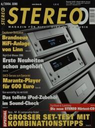 Stereo 6/2006 Zeitschrift