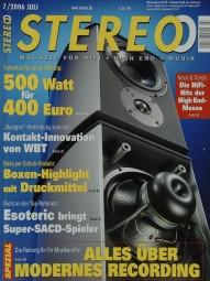 Stereo 7/2006 Zeitschrift