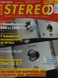 Stereo 1/2008 Zeitschrift