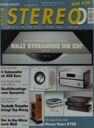 Stereo 8/2008 Zeitschrift