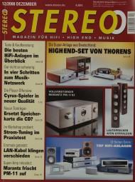 Stereo 12/2008 Zeitschrift