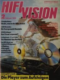 Hifi Vision 2/1991 Zeitschrift