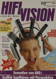 Hifi Vision 10/1992 Zeitschrift