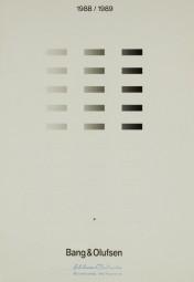 Bang & Olufsen 1988 / 1989 Prospekt / Katalog