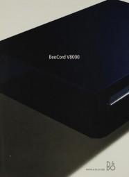 Bang & Olufsen BeoCord V8000 Prospekt / Katalog