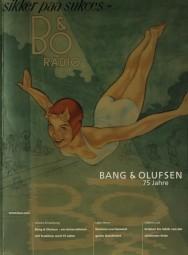 Bang & Olufsen 75 Jahre - Jubiläumszeitschrift Prospekt / Katalog