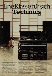 Technics Eine Klasse für sich. Prospekt / Katalog