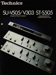 Technics SU-V505 / V303 / ST-S505 Prospekt / Katalog