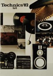 Technics Technics HiFi ´82 Prospekt / Katalog