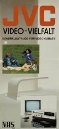 JVC Video-Vielfalt Prospekt / Katalog