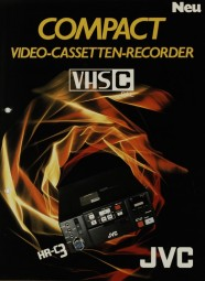 JVC Compact - HR-C3 Prospekt / Katalog