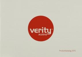 Verity Audio Produktkatalog 2015 Prospekt / Katalog